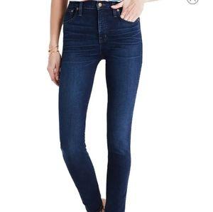 MADEWELL 9 inch high riser skinny jeans